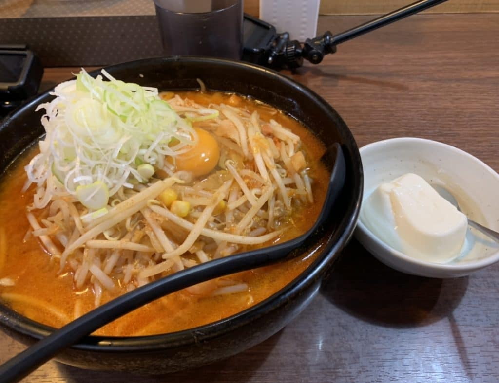 柳家 キムチ納豆味噌ラーメン