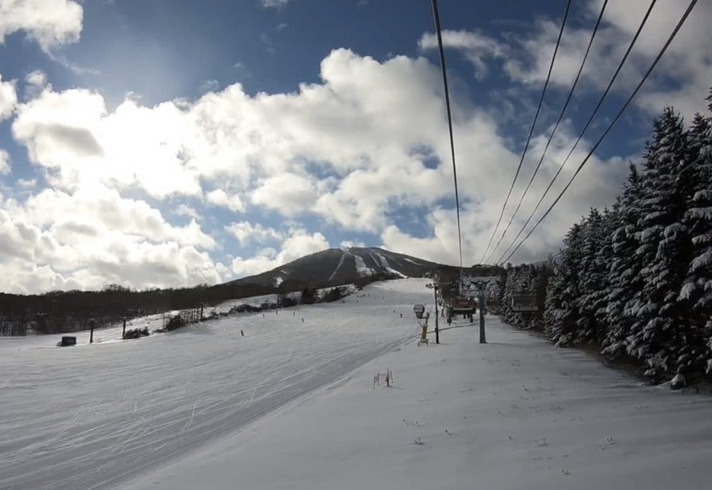 安比高原スキー場 セントラルクワッド