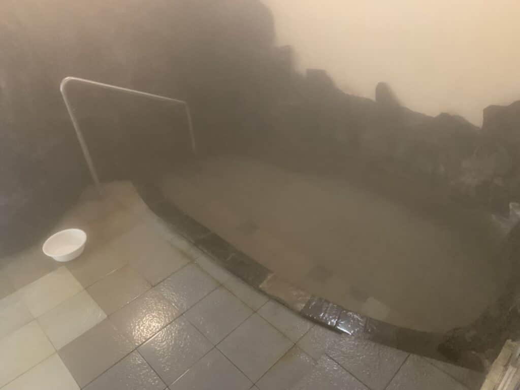 伊東園ホテル 尾瀬老神山楽荘 別館温泉 内湯